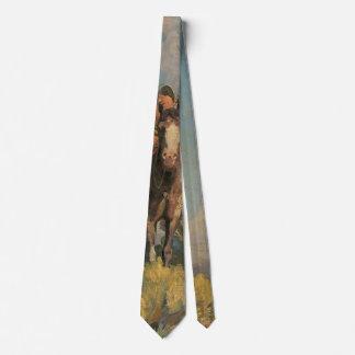 Nativos americanos del vintage, afloramiento del corbata