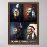 Nativos americanos impresiones
