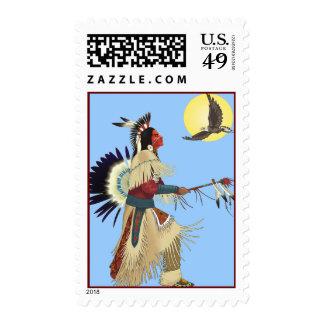 Nativos americanos timbres postales