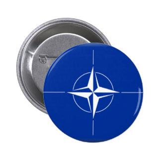NATO Flag 2 Inch Round Button