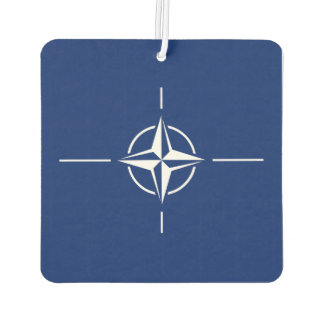 NATO Flag Car Air Freshener