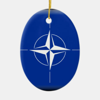 NATO Flag Ceramic Ornament