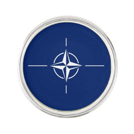 NATO Flag Lapel Pin
