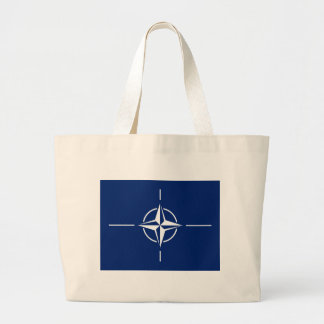 NATO Flag Large Tote Bag