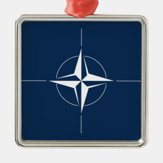 NATO Flag Metal Ornament
