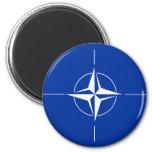 Nato Flag Refrigerator Magnets