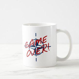 NATO Game Over - stop war Classic White Coffee Mug