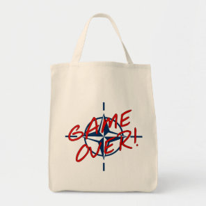 NATO Game Over - stop war Tote Bag