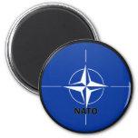 Nato Roundel quality Flag 2 Inch Round Magnet