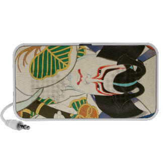 Natori Shunsen Bando Hikosaburo Thirty-six Kabuki Travel Speaker