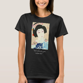 Natori Shunsen New Portraits of Kabuki Actors T-Shirt