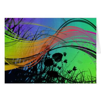 Natrual Abstract Design Card