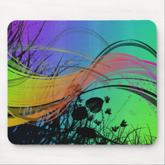 Natrual Abstract Design Mouse Pad