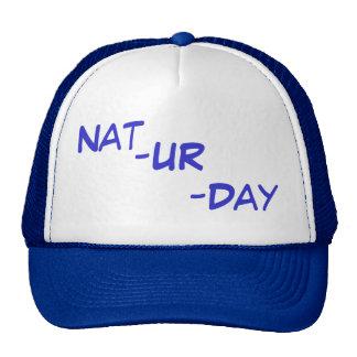 Natrual light nat ur day trucker hat