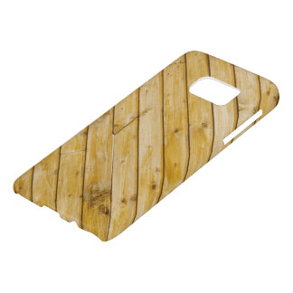 Natrual Wooden beam design Samsung case
