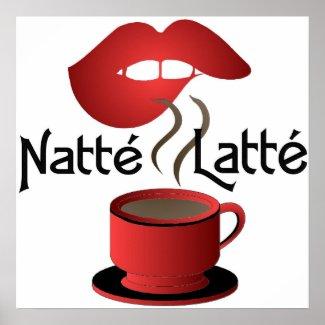 Natte Latte Print