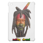 Natty Dread Rastafari iPad Case - White