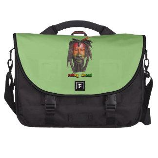 Natty Dread Rastaman With Dreadlocks Laptop Commuter Bag