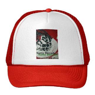 natty dreads trucker hat