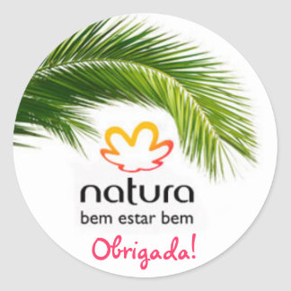natura-comesticos, Debtor! Classic Round Sticker