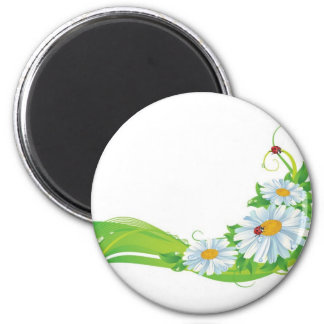 Natura Life Green 2 Inch Round Magnet