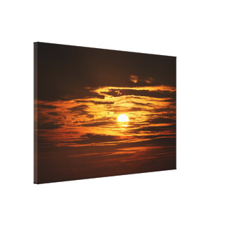 natural-656967 TROPICAL SUNSET PHOTOGRAPHY BACKGRO Canvas Print