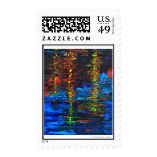 Natural Abstract Stamp