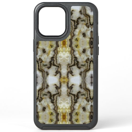 Natural Agate Stone, Authentic Colors & Design OtterBox Symmetry iPhone 12 Pro Max Case