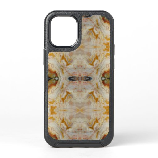 Natural Agate Stone, Authentic Colors & Design OtterBox Symmetry iPhone 12 Mini Case