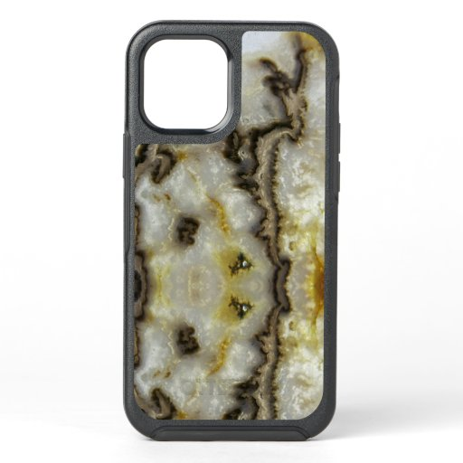 Natural Agate Stone, Authentic Colors & Design OtterBox Symmetry iPhone 12 Pro Case