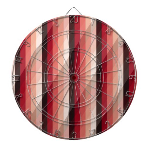 Natural And Biogas Fueled stripes Dartboard