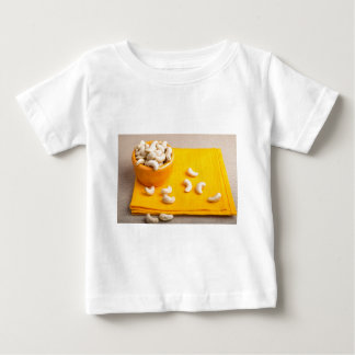 Natural and healthy cashew nuts for raw foodists baby T-Shirt