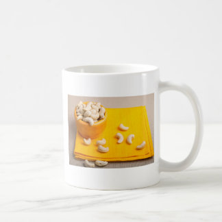 Natural and healthy cashew nuts for raw foodists coffee mug