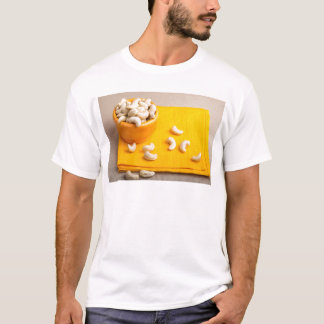 Natural and healthy cashew nuts for raw foodists T-Shirt