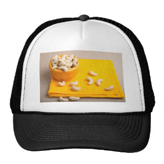 Natural and healthy cashew nuts for raw foodists trucker hat