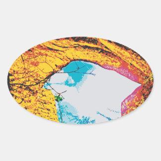 Natural Arch Stearns Kentucky Oval Sticker