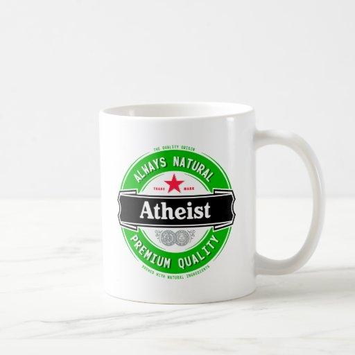 Natural Atheist Classic White Coffee Mug