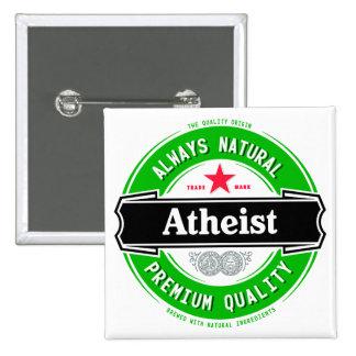 Natural Atheist Pin