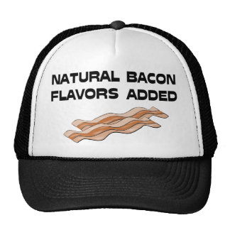 Natural Bacon Flavors Added Mesh Hat