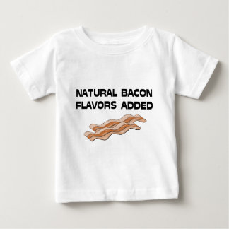 Natural Bacon Flavors Added Tee Shirts
