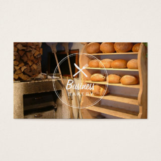 Natural Bakery Business Cards