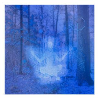 Natural Balance (blue) Poster