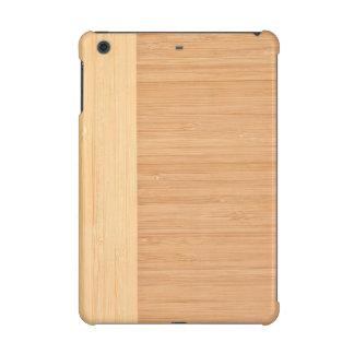 Natural Bamboo Border Wood Grain Look iPad Mini Retina Cover