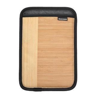 Natural Bamboo Border Wood Grain Look Sleeve For iPad Mini