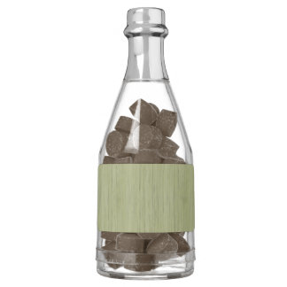 Natural Bamboo Look in Moss Green Chewing Gum Favors