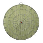Natural Bamboo Look in Moss Green Dartboards
