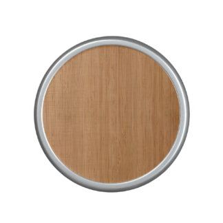 Natural Bamboo Wood Grain Look Bluetooth Speaker