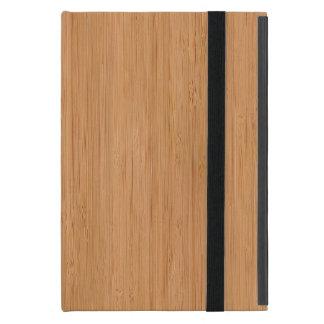 Natural Bamboo Wood Grain Look Case For iPad Mini