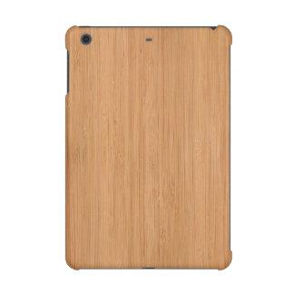 Natural Bamboo Wood Grain Look iPad Mini Retina Cover