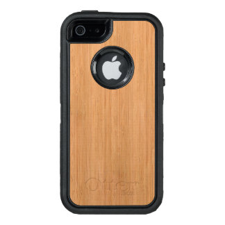 Natural Bamboo Wood Grain Look OtterBox iPhone 5/5s/SE Case